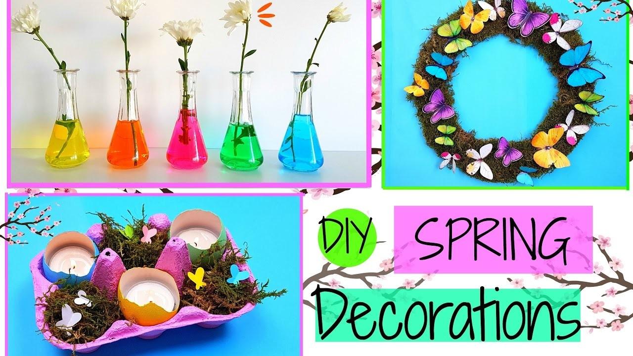 3 DIY Spring Room Decor Ideas   Easy Crafts