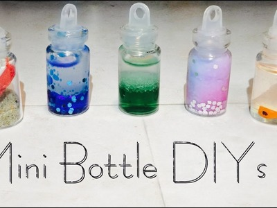 5 DIY Mini Bottle Charm Ideas