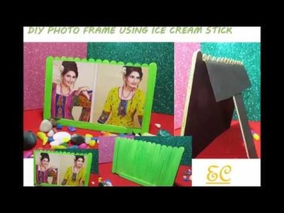 5 Minutes Craft - DIY Photo Frame using Ice Cream Sticks