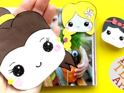 Beauty & The Beast Bookmark Corner DIY - Belle DIY - Beauty & The Beast DIY - Disney Princess Crafts