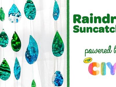 Crayola CIY: Create It Yourself - Melted Crayon DIY Raindrop Suncatcher