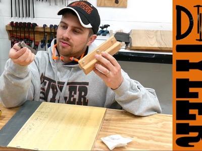 D2D DIY How to Sharpen Jointer. Planer Knives | Deulen Method