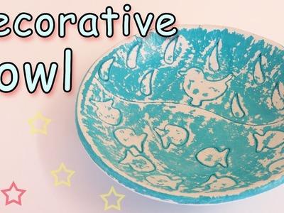 Decorative Bowl - Ana | DIY Crafts