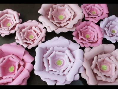 DIY : #174 Paper FLOWERS - Room Decoration ❤
