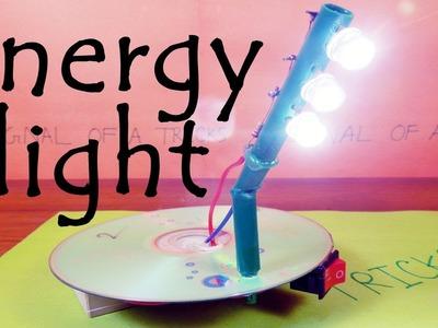 DIY 8 hours backup energy saving charger light homemade DIY
