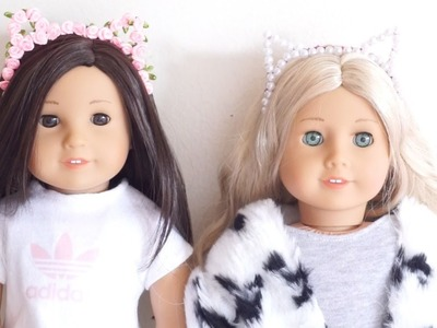 DIY American Girl Doll Cat Ears