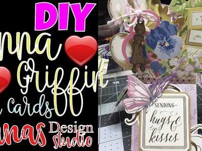 DIY Anna Griffin Flower Box Cards: Do-it-Yourself Box Cards, ThankYou, Happy Birthday, Get Well Soon