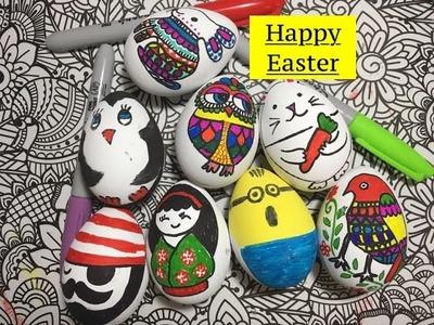 DIY || Coloring Easter Eggs