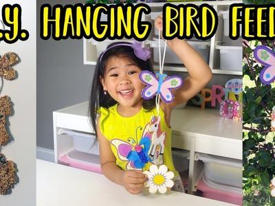 DIY Cute Hanging Bird Feeder | Handmade Hanging Bird Feeder Tutorial | Easy Bird Feeder DIY for Kids
