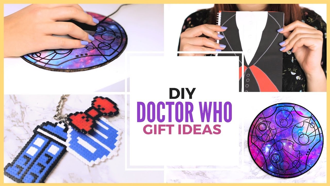 Diy Doctor Who Fandom Gift Ideas Projects Crafts Gifts