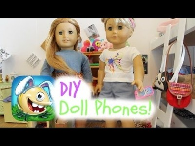 DIY Doll Phones!