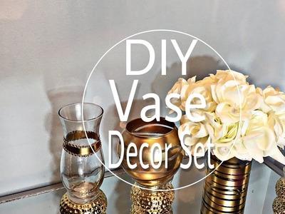 DIY | Dollar Tree | Home Decor Vase Set