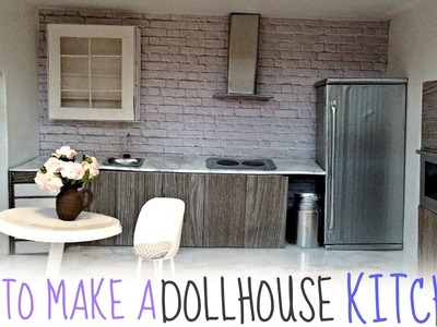 Diy: dollhouse KITCHEN