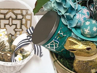 DIY Easter Baskets | Gift Basket Ideas | Personalized Easter Baskets!