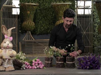 """DIY Easter """"Spring Trio"""" Floral Arrangement"""