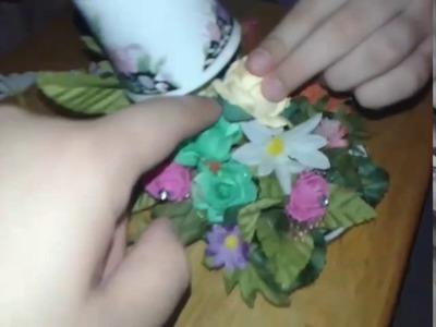 DIY FLOATING TEA CUP