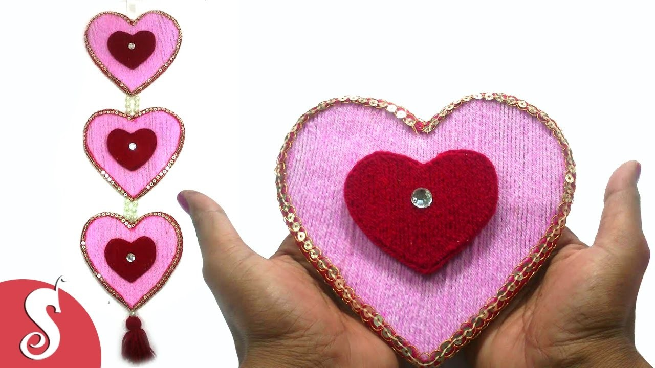 twisting hearts pop up card template - heart diy heart friendship bracelet valentines day pop