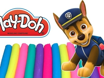 DIY How To Make PAW PATROL Play Doh Learn colors for children