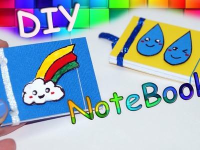 DIY Kawaii notebooks. Ideas for school. DIY MINI NOTEBOOKS - Easy & Cute Designs!. Julia DIY