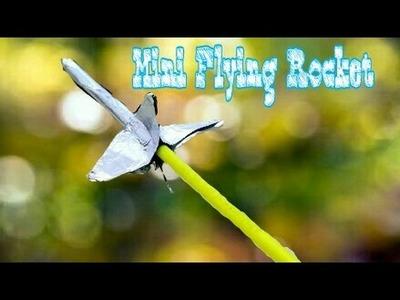 DIY: Make Mini Flying Rocket At Home Using Match Stick