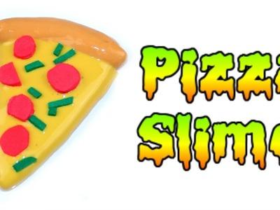 DIY Miniature Food Pizza Slime ????