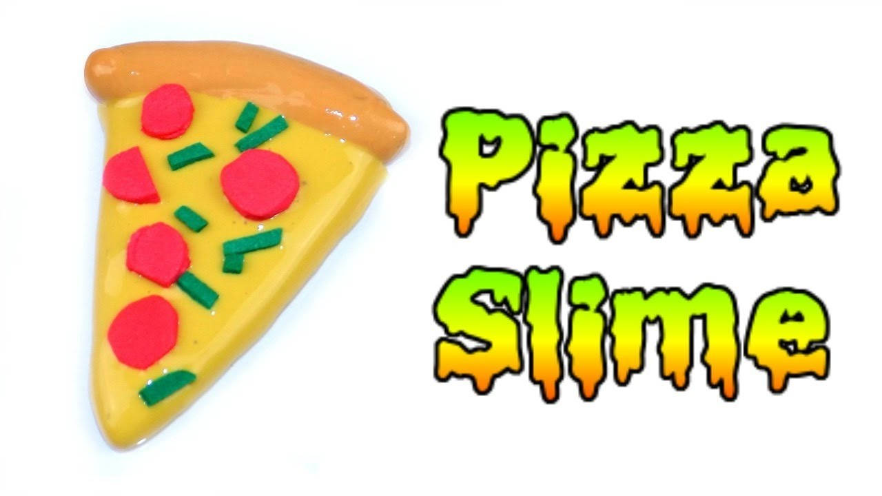 DIY Miniature Food Pizza Slime ????