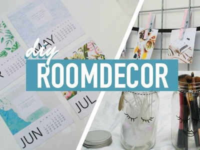 DIY: Pinterest Inspired Room Decor | Sabrina Putri