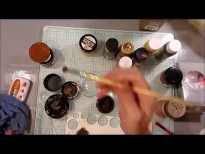 DIY Prima.Finnabair Rust Effect Paste - Cinnamon and Ginger replacement!