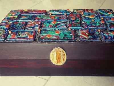 DIY- Room Organization: Recycled Storage Box. TUTORIAL