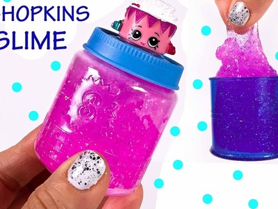DIY Shopkins Glitter Slime Surprise Toy Gifts for Friends!  Birthday Party Favors You Make Yourself