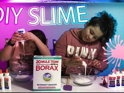 DIY SlIME RECIPE - HOW TO MAKE SLIME