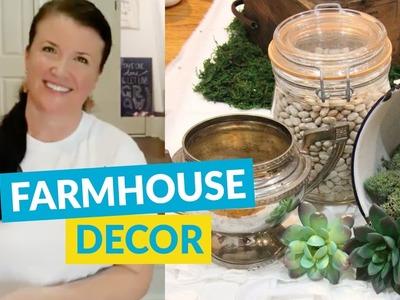 DIY Thrift Store Farmhouse Style Decor