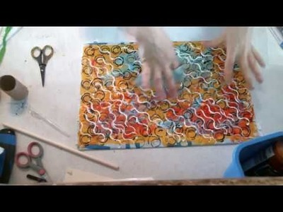 DIY Washie Tape for mixed Media Art