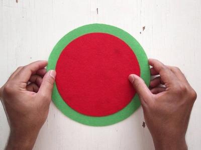 DIY: Watermelon Coasters