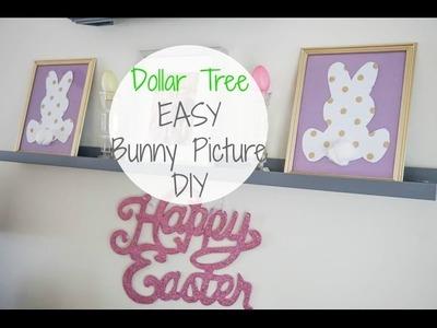 *Dollar Tree DIY EASY Cute Bunny Pictures  Megan Navarro  #easterdiy