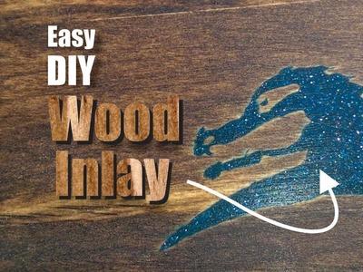 Easy DIY Wood Inlay