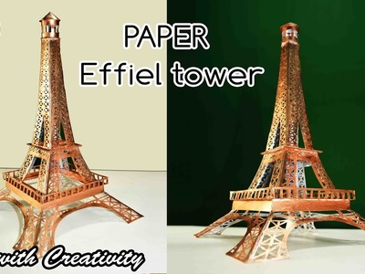 Effiel Tower | Paper Tower | DIY | Paris | Art with Creativity 189
