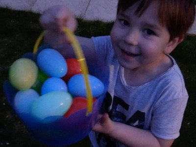 Glow In The Dark Easter Egg Hunt DIY