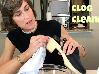 How To Clean Wooden Clog Shoes ~ DIY ~  Murphy Oil Soap Trick