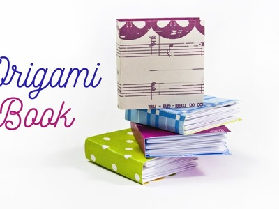 How to make a little book | DIY Origami Book | Paper Notebook! Mini DIARY