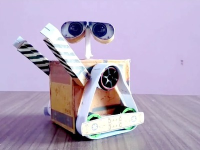 How to make a wall e Robot at home diy live
