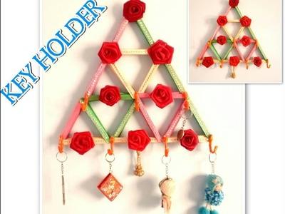 KEY HOLDER | DIY | ICE CREAM Stick  Key Holder