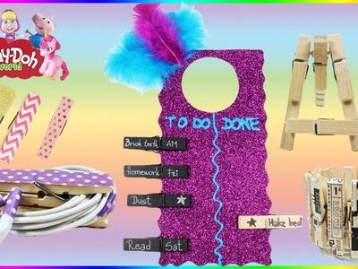 Life Hacks DIY Clothespin | Magnets | Room Decor