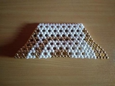 Pearl Beaded Hand Bag - DIY