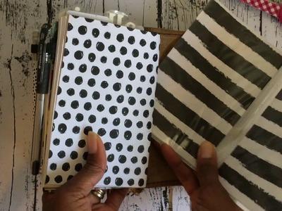 Planner Hack: Easy DIY A6 Traveler's Notebook Dashboards | Hope.Dream.Journal.