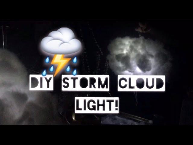 Random diy storm cloud light my crafts and diy projects for Random diys