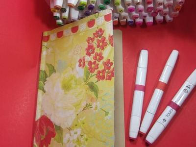 Touch 5 Markers Review & DIY Dollar Tree Swatch Journal