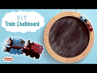 Train Chalkboard DIY!   Thomas & Friends Crafts   Thomas & Friends