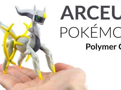 Arceus (Pokemon) – Polymer Clay Tutorial