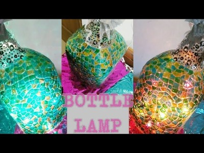 | Bottle lamp| The Making | Home.Room decorative | Affordable DIY gift idea |